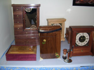 jewel boxes/ keepsake boxes