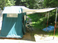 Leesure-Lite Motorcycle tent trailer for sale