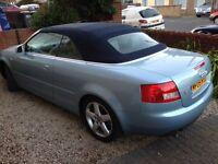 Audi convertible beautiful original 2.4sport 2005 reduced