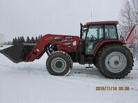 Case IH MXM-155 MFWD Tractor c/w LX 162 FEL
