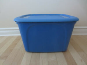 Nesting Storage Totes - Blue - 72 Litre  (*****A great buy*****)