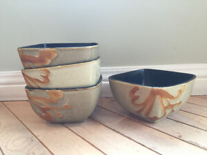 Beautiful Ceramic Bowls - Set of 4 Kitchener / Waterloo Kitchener Area image 1
