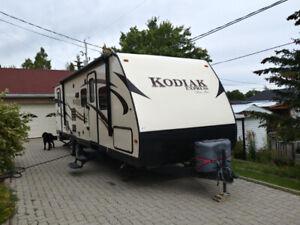 Roulotte Kodiak 286 BHSL 2016(acheté en 2017)
