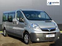 2013 Vauxhall Vivaro 2900 COMBI CDTI TECSHIFT SWB Diesel silver Semi Auto