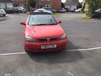 Vauxhall Astra Linnea Rossa 1.8v