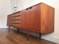 Retro vintage wooden sideboard in exceptional original condition.