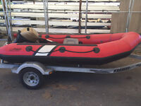 Spirit Zodiac Inflatable Boat with Yamaha Motor FOR SALE