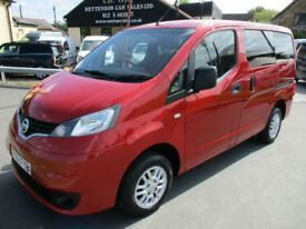 2012 Nissan NV200 DCI SE COMBI Wheelchair Access Vehicle WAV Only 18,000 Miles