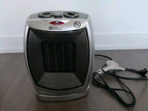 Oscillating Ceramic Heater and Fan for sale
