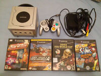 Gamecube with 4 Games