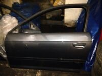 Audi A3 8p 3 door drivers side door skin only