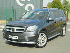 2013 (63) MERCEDES-BENZ GL350 3.0 CDI 4X4 BLUETEC 7G-TRONIC PLUS AMG 7 SEATS