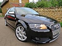 2008 AUDI S3 2.0T FSI 265 BHP QUATTRO. LOW MILEAGE, JUST SERVICED !!
