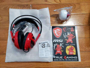 MSI SteelSeries Siberia Gaming Headset w/ MSI Lucky Dragon