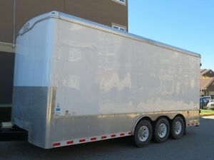 2014 Haulmark Grizzly Enclosed Cargo Trailer 20 x 8.5ft