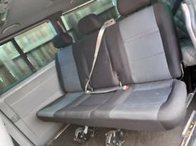 Vw transporter T5 T5.1 T6 combi rear clip in seat, centre row