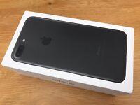 Iphone7 plus 256gb Matt black