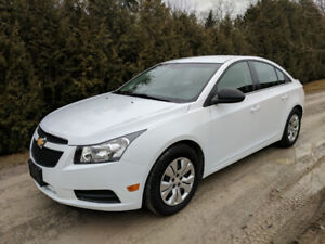 2012 Chevy Cruze 1.8L 6 Spd  Economical, Clean and Straight Car