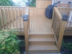 Need you deck, Fence, Concrete poured before winter!?
