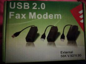 Brand new USB 2.0 FAX MODEM