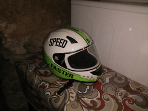 Speed and Strength Full Face Helmet Motorcycle