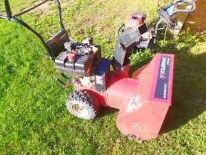 MUST GO!! Murray snowblower 8 horsepower 24 inch width Peterborough Peterborough Area image 2