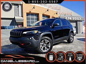 Jeep Cherokee TRAILHAWK, V6 3.2L, 4X4, CUIR, GPS, WOW *PAS VGA*