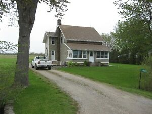 Recently Renovated Amherstburg Country Home