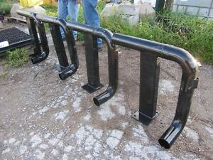 NEW Black Steel Piping - 4 Pieces Available - Heavy Duty
