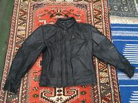Men's leather Buffalo biking jacket size 42