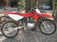 Honda CRF 100F LOW Hours **REDUCED**