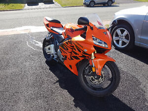 2006 Honda CBR600RR Rare Tribal Orange