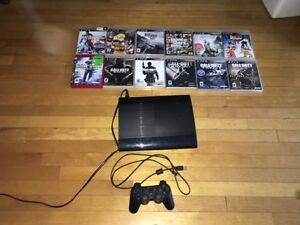 Ps3 super slim with 500gb for 200$