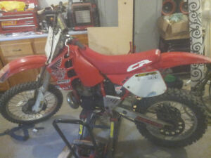 1989 Honda CR250R Dirtbike