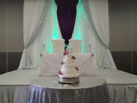 Bridal Loveseat or King and Queen Chairs for Rent. Great Prices!