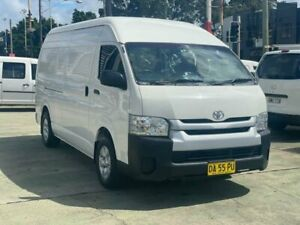 2015 Toyota HiAce KDH221R MY15 SLWB White 4 Speed Automatic Van Clyde Parramatta Area Preview