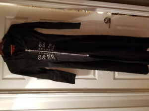Black Size Small Gothic TRIPP Trench Coat