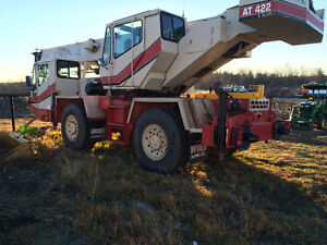 1992 Grove AT422 rough Terrain Crane Edmonton Edmonton Area image 1