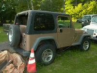 2000 Jeep Wrangler Cabriolet