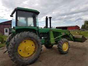 John Deere 4430 FWA with Loader and 3 Point Hitch Edmonton Edmonton Area image 3