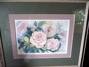 "L/Edition, Hand Signed, Mary-Dawn Roberts, ""Victorian Roses"" Stratford Kitchener Area image 1"