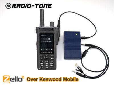 Radio Over Zello Controller Rt4 Phone Kenwood Mobile Tk-5820 K-7100 Tk-8100