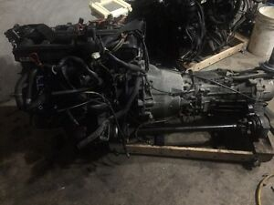 BMW e46 325XI Engine 5 Speed Transmission Diffs complete