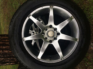 "16"" Chrome Rims with Tires"