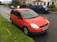 53 PLATE FIESTA 1.25 MOT MARCH 17 EXCELLENT CONDITION BARGAIN £800ono