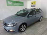 GREY VOLKSWAGEN PASSAT 1.6 S TDI BLUEMOTION TECHNOLOGY **from £140 per month**