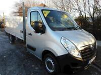 2013 Vauxhall Movano F3500 LWB alloy dropside with rear taillift