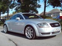 AUDI TT COUPE 1.8 2002 QUATTRO 225BHP FSH 9 STAMPS COMPLETE WITH M.O.T HPI CLEAR