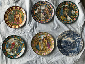 "Wedgewood Limited Edition Plates ""The Legend of King Arthur"""