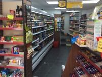 OFFLICENCE SHOP FOR SALE WITH 1 BEDROOM FLAT